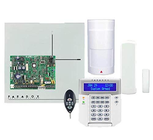 Paradox - Kit MG5050 868 MHz - Central MG5050 + Detector PMD2P + Teclado K32LCD+ + Contacto DCTXP2 + Mando a distancia REM2