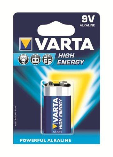 Varta High Energy 9V Block Batterie