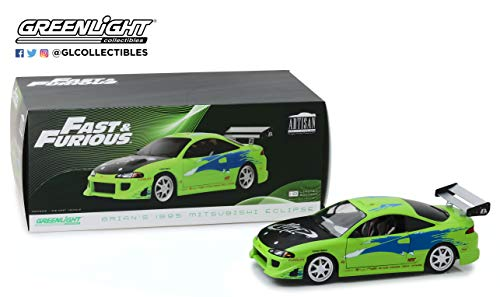 Greenlight 19039 1: 18 Artisan Collection - The Fast & The Furious (2001) - 1995 Mitsubishi Eclipse - New Tooling
