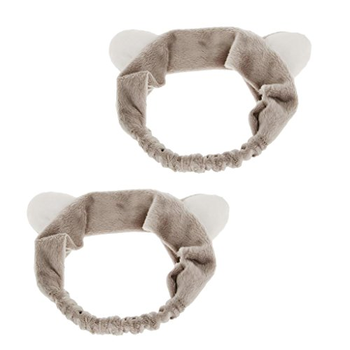 Bonarty 2Pcs Boucles D'oreille De Chat Femme Maquillage Masque De Lavage De Visage