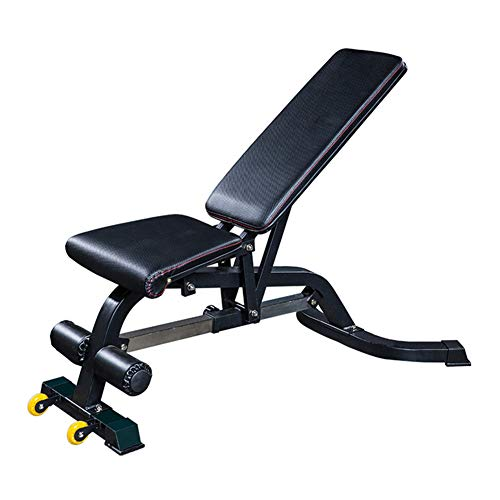 Review BDouY Bench Stomach Abs Sit Up Bench Adjustable in 8 Levels,for Home Training Muscles Fitness...