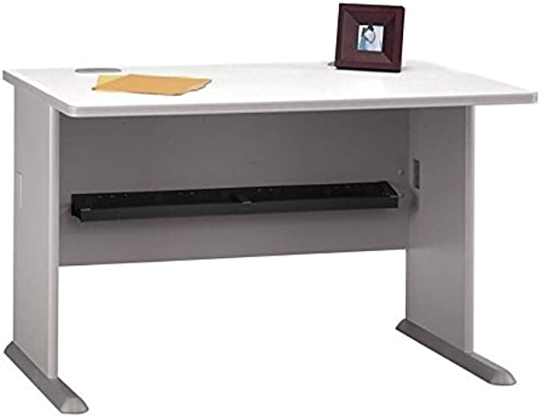 Series A 48 Desk Finish Pewter