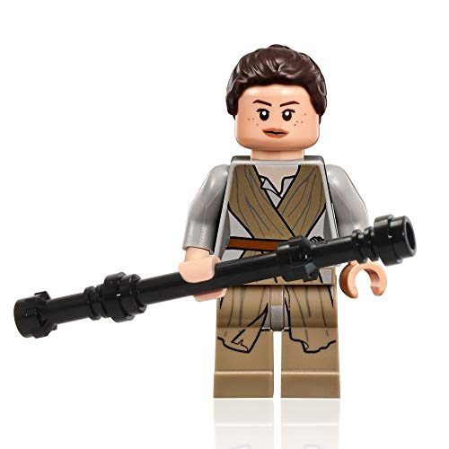LEGO Star Wars Minifigure - Rey with Hairpiece and Mask (75099) by LEGO