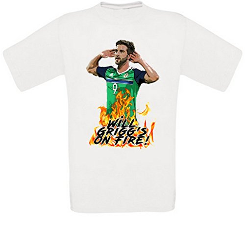 Will Grigg Will Grigg's on Fire Will Griggs on Fire T-Shirt (XXXL)