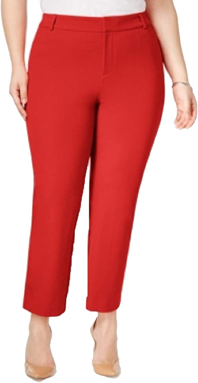 Charter Club Plus Size Newport TummyControl Cropped Pants