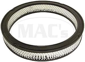 MACs Auto Parts 44-30510 Mustang Air Filter - 13-1/4 OD X 11-5/16 ID - Aftermarket - 289 HiPo V8