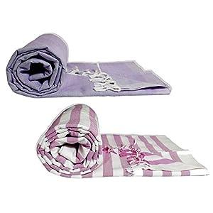 Riyashree Organic Cotton Silky Soft Bhagalpuri Dull chadar lite Blanket & Duvet ( 52*94 in ) Combo Pack of 2 Dull 08 15