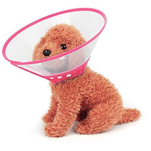 Encantadora bonita hermosa moda cómoda pet de mascotas cuello de cuello de embudo cubierta antit bocado de seguridad Protector de cuello práctico, tamaño: XL, adecuado para el cuello 30-39cm dispositi
