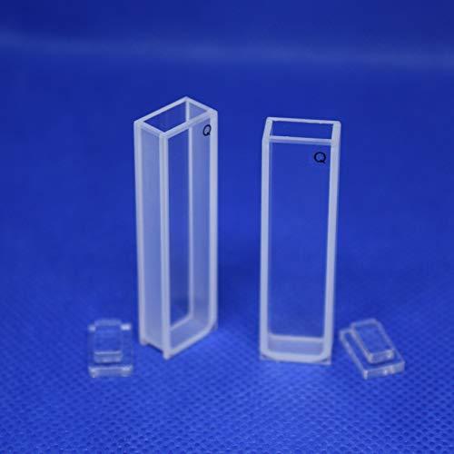 UV Quartz Cuvettes Pathlength: 10 mm; Chamber Volume: 3.5 ml; Spectral Range: 190-2500 nm Qty: 1