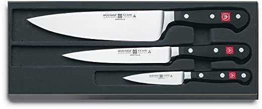 Wüsthof Classic High Carbon Steel 3 Piece Chef's Knife Set