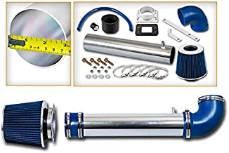 Rtunes Racing Short Ram Air Intake Kit + Filter Combo BLUE Compatible For 88-95 Toyota 4Runner / Pick Up / T100 2.4L …