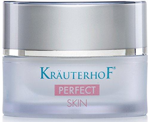 Tagescreme mit Faltenauffüller Kräuterhof 30ml Frauen Männer Gesichtspflege Soforteffekt Made in Germany Poren Falten Haut optisch ausgleichend