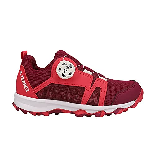 adidas Kids Boys Terrex Agravic Boa Hiking - Hiking Sneakers Shoes Casual - Red - Size 4 M