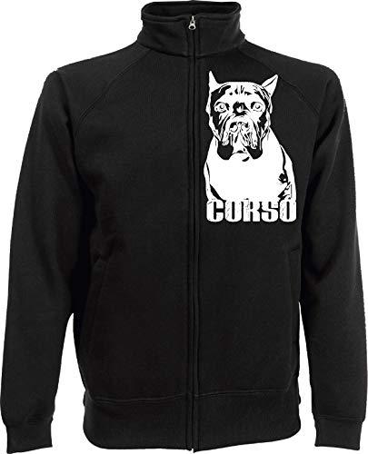 Generico Jackie Corso Dog - Perro de peluche (5 colores) Negro M