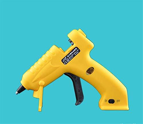 HEEYEE Pistola de Pegamento Caliente inalámbrica, Pistola de Pegamento Caliente de 8W Mini, Pistola de Pegamento de fusión en Caliente Recargable USB para Reparaciones rápidas, hogar