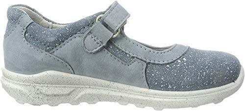 RICOSTA Mädchen Ina Sneaker, Blau (Bleu/Jeans 142), 33 EU