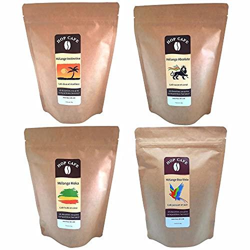 Pack Découverte 4 x 18 Dosettes Souples de Café pour...