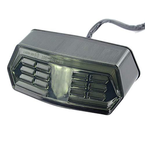 Señal de motocicleta, luz trasera, freno, señal de giro, apto para Honda Grom 125 Msx125 Cb650f Cbr650f Ctx700 Ctx700n, accesorios de coche