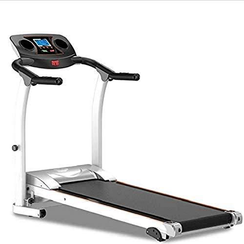 Cinta de correr plegable, cinta de correr eléctrica, cinta de correr, cinta de correr, cinta de correr plegable, minidispositivo de fitness para interiores (color: 1) BJY969 (color: 1)