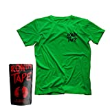 RoninTape® Camiseta – Pack 1 – Sport And Battle Ready, Crossfit, Climbing, Outdoor Verde Logo Nero XL