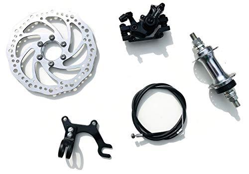 AASH Freno de disco mecánico MTB Bicicleta Bicicleta Ciclismo Pinza Delantera 160...