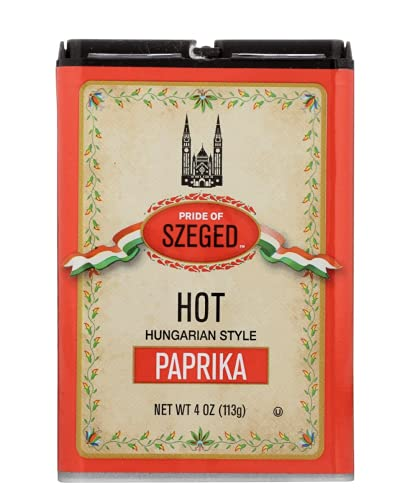 Pride of Szeged Hot Paprika, Hungarian Style...