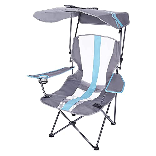 "SwimWays Kelsyus Original Canopy Chair, Royal Blue, 37"" x 24"" x 58"", (Model: 6038851)"