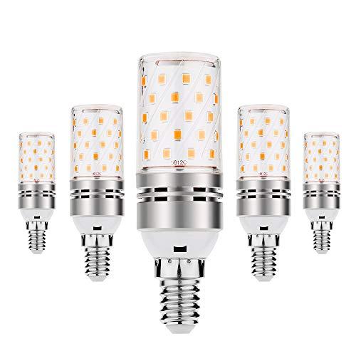 E14 LED MAIS Glühlampe, VINBE 12W E14 LED Lampe, entspricht 80-100 Watt Glühlampen, 1200LM, Nicht dimmbar,Warm Weiß (3000K, 5pack)