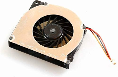 Fujitsu FUJ: CA49008–0271Notebook-Ersatzteil–Komponente für Laptop (CPU Cooling Fan, LifeBook C1410, E734, E754, T4215, T4220, S7110, H240, Schwarz, Metallisch)