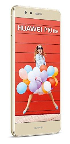 HUAWEI P10 lite Single-SIM Smartphone (13.2 cm (5.2 Zoll) 32 GB interner Speicher, Android 7.0) platinum gold - 5