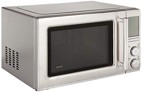 Breville BMO850BSS the Smooth Wave countertop microwave oven, Brushed Stainless Steel