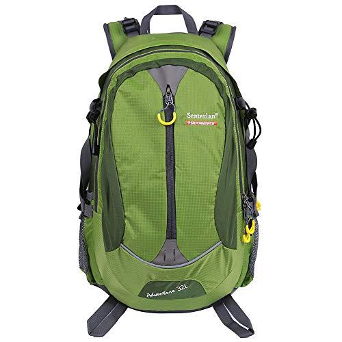 EGOGO 32 l Wasser-Resistent Outdoor Sport Wandern Camping Radfahren Rucksack Daypack S2128 (Grün)