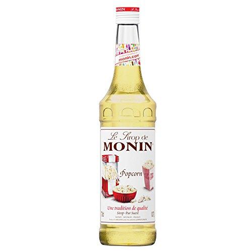 Monin Jarabe de palomitas de maíz 70cl botella–juego de 6–Un bollo de palomitas Jarabe aromatizante para bebidas