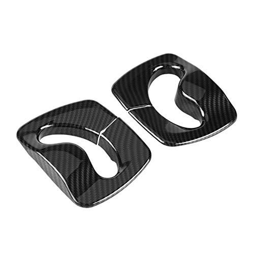 JIS 2 unids de Estilo de Fibra de Carbono Interior de cinturón de Seguridad de Asiento Decorativo para automóvil para BMW 5 Series F10 2011 2013 2014 2015 2016 2016