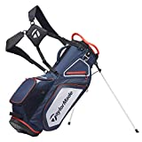 TaylorMade Unisex's TM20 Stand 8.0 Bag Navy White Red Stand Bag, Navy, One Size