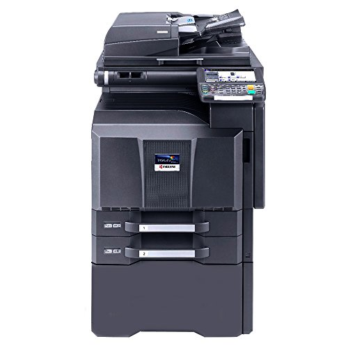 Kyocera TASKalfa 3550ci Tabloid-Size Color Laser Multifunction Copier - 35ppm, Copy, Print, Scan, Auto Duplex, 11x17, 12x18, 2 Trays, Stand