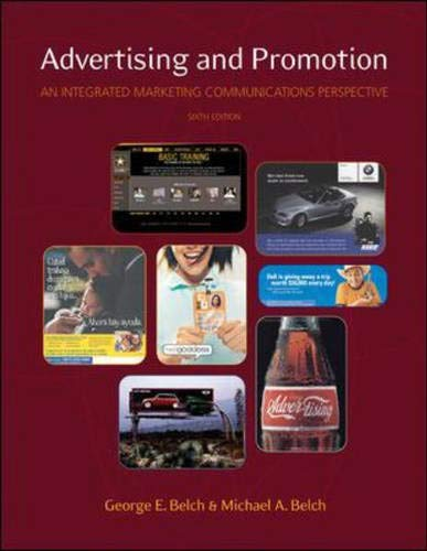 Advertising and Promotion: An Integrated Marketing Communications Perspective, 6/e, with PowerWeb