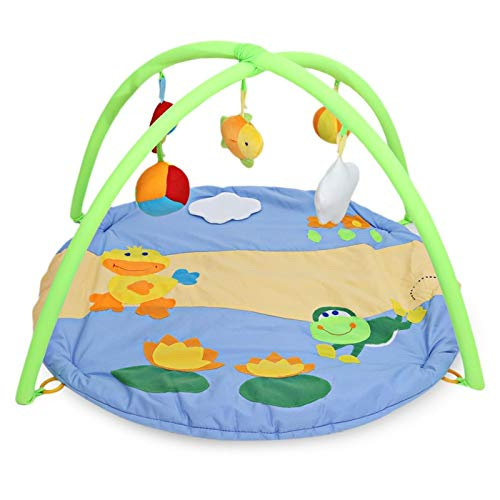 Review He-lanshangmaobu Baby Activity Play Mat Colorful Soft Duck Pattern Baby Toys Baby Gym Educati...