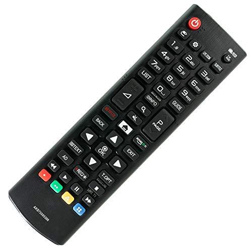 Mando a distancia de repuesto para LG Smart TV LED 32LH510B 32LG300CAEU – control remoto, télécommande, Kumanda, Plug & Play