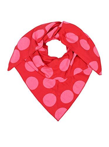 Zwillingsherz Dreieckstuch aus Baumwolle - Hochwertiger Schal mit Punkten für Damen Jungen Mädchen - 2020 - XXL Hals-Tuch und Damenschal - Strick-Waren - Frühjahr Sommer Herbst Winter