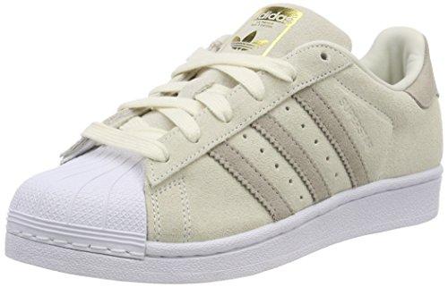 Adidas Women's Superstar Trainers Shoes, White (Casbla / Marsua / Vealre 000), 4.5 UK