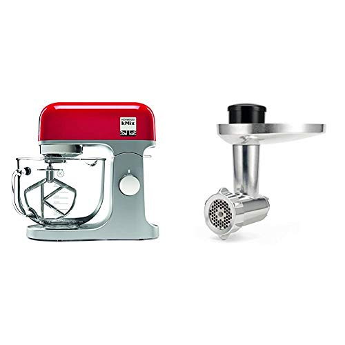 Kenwood kMix Red with Food Mincer