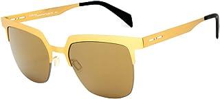 italia independent 0503-120-120 Gafas de sol, Dorado, 52 Unisex