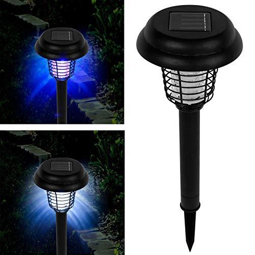 Pure Garden Solar Bug Zapper LED and UV Light