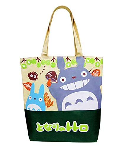 Kerr's Choice Sanrio Bag My Neighbor Totoro Bag Shopping Bag My Neighbor Totoro Tote Gym Bag Travel Bag Beach Daily Bags | Grocery Bag Back to School Gift