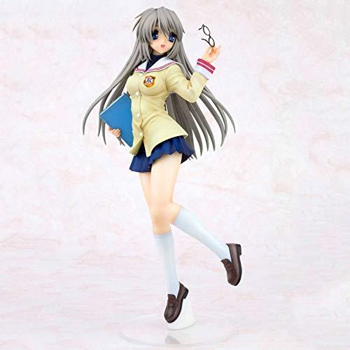 Bonmin Clannad Sakagami Tomoyo Action-Figur Wonderful Life Japan Anime Sexy Mädchen Schuluniform Ver PVC 25cm Model Collection Geschenk Spielzeug