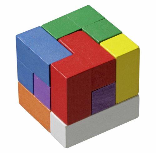 Philos 3519 - Cubo rompicapo Tetris, colorato