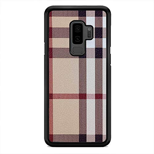 Classic Brown Plaid Pattern Phone Case Hard Custom Case Cover for Samsung Galaxy S21 Ultra S21+ S20 FE S10 Plus S9