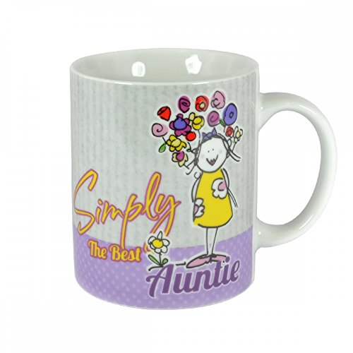 Simply The Best Auntie Mug In A Gift Box Christmas Birthday Gifts Idea