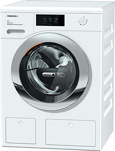 Miele WTR 860 WPM Waschtrockner mit TwinDos und QuickPower - ganz schnell ausgehfein auf Knopfdruck, 11568120, Lotosweiß